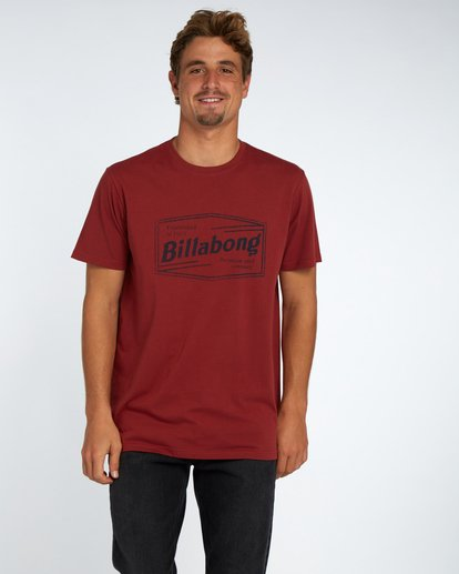 1 Labrea T-Shirt Marron H1SS17BIP8 Billabong