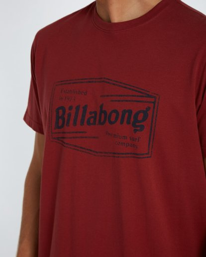 4 Labrea T-Shirt Marron H1SS17BIP8 Billabong
