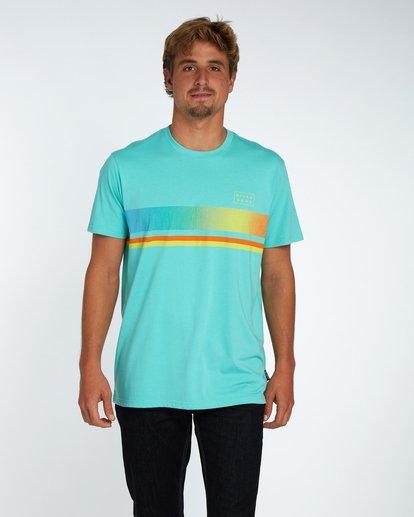 1 Team Stripe T-Shirt Bleu H1SS18BIP8 Billabong