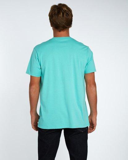 3 Team Stripe T-Shirt Bleu H1SS18BIP8 Billabong