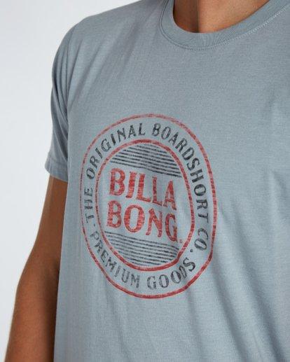 4 Danapoint T-Shirt Gris H1SS29BIP8 Billabong