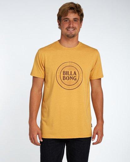 1 Danapoint T-Shirt Amarillo H1SS29BIP8 Billabong