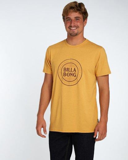 2 Danapoint T-Shirt Amarillo H1SS29BIP8 Billabong