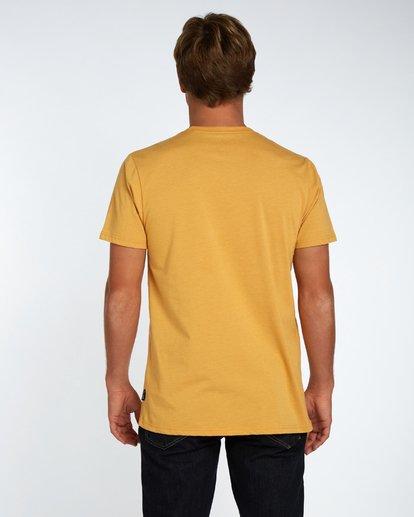3 Danapoint T-Shirt Amarillo H1SS29BIP8 Billabong