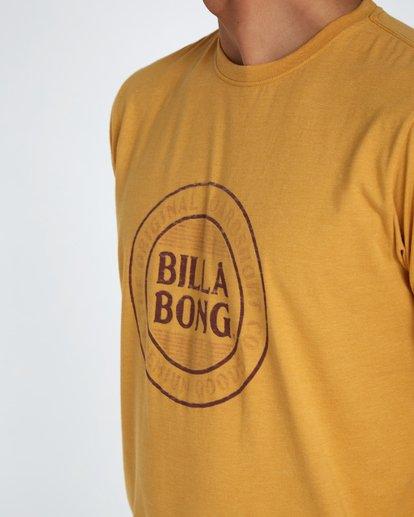 4 Danapoint T-Shirt Amarillo H1SS29BIP8 Billabong