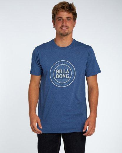 1 Danapoint T-Shirt Azul H1SS29BIP8 Billabong