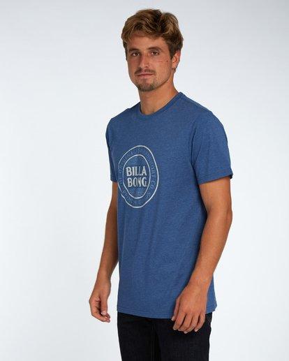 2 Danapoint T-Shirt Azul H1SS29BIP8 Billabong