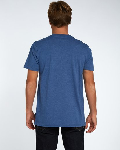 3 Danapoint T-Shirt Azul H1SS29BIP8 Billabong