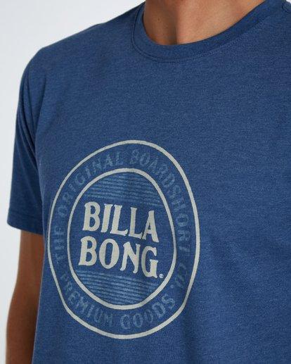 4 Danapoint T-Shirt Azul H1SS29BIP8 Billabong
