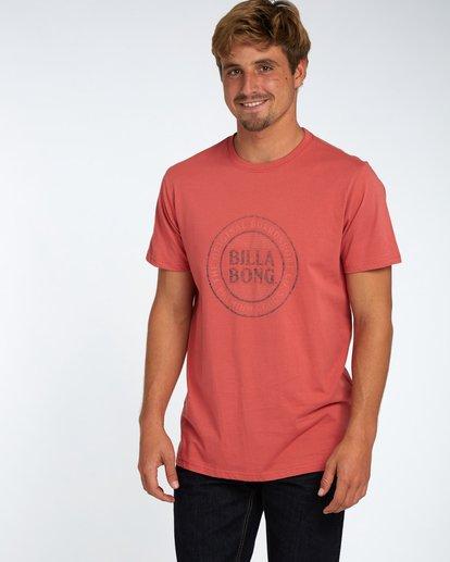 1 Danapoint T-Shirt Rojo H1SS29BIP8 Billabong