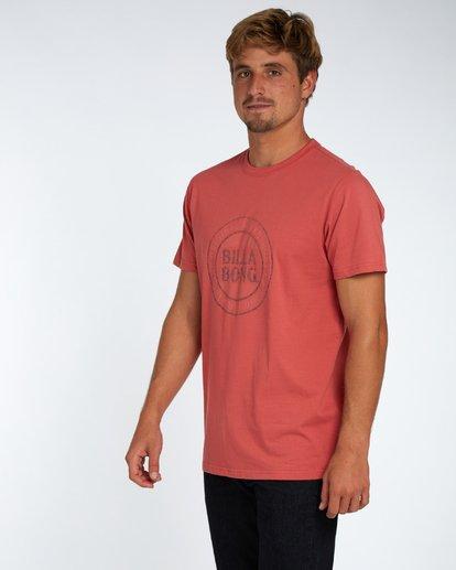 2 Danapoint T-Shirt Rojo H1SS29BIP8 Billabong