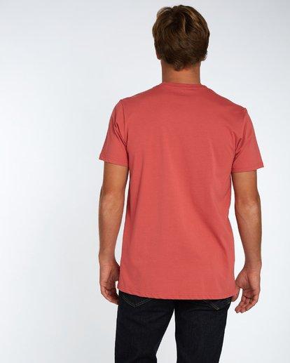 3 Danapoint T-Shirt Rojo H1SS29BIP8 Billabong
