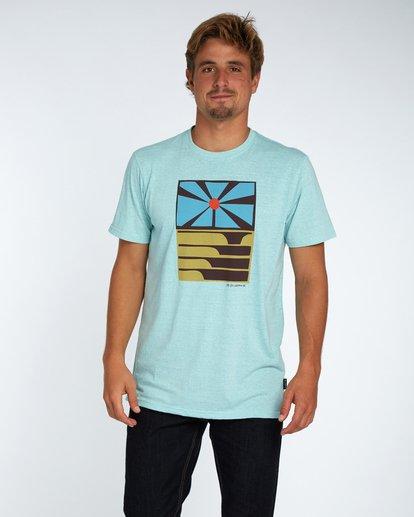 0 Essaouira T-Shirt Blau H1SS36BIP8 Billabong