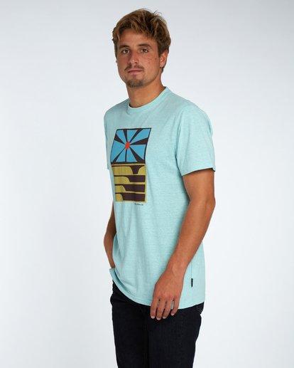 1 Essaouira T-Shirt Blau H1SS36BIP8 Billabong