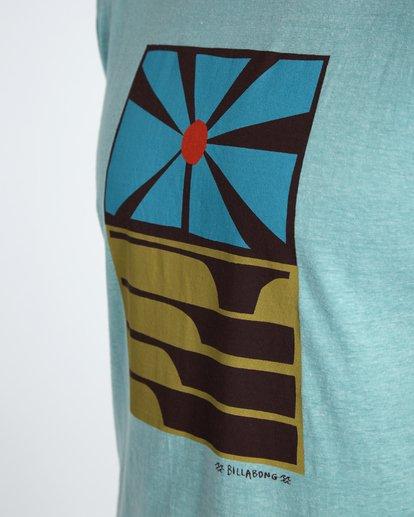 3 Essaouira T-Shirt Blau H1SS36BIP8 Billabong