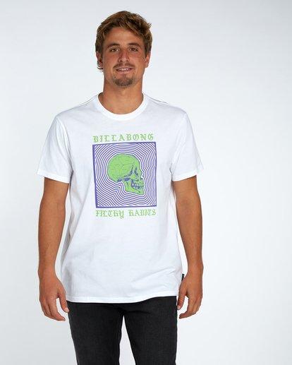 1 My Mind T-Shirt Blanc H1SS37BIP8 Billabong