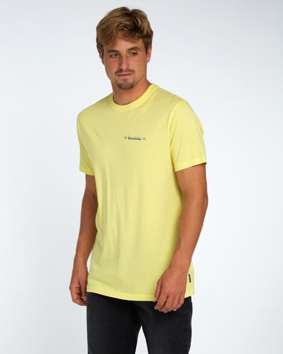 2 Hula T-Shirt Gelb H1SS42BIP8 Billabong