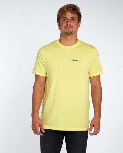 3 Hula T-Shirt Gelb H1SS42BIP8 Billabong