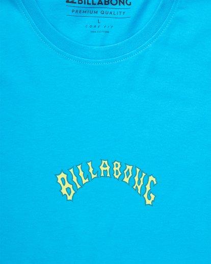 1 Arch Rival T-Shirt Bleu H1SS57BIMU Billabong