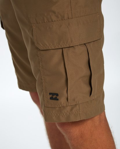 5 Scheme Submersible Walkshort 22 Inches Marron H1WK07BIP8 Billabong