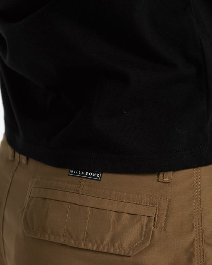 7 Scheme Submersible Walkshort 22 Inches Marron H1WK07BIP8 Billabong