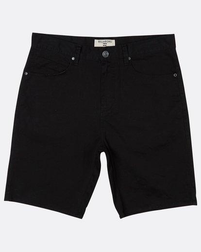 0 Outsider 5 Pockets Walkshort Noir H1WK13BIP8 Billabong