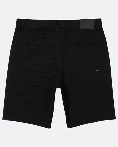 1 Outsider 5 Pockets Walkshort Noir H1WK13BIP8 Billabong