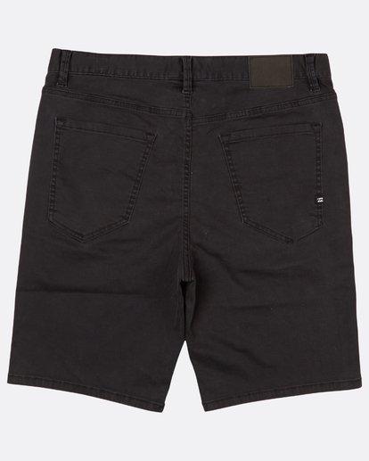 1 Outsider Denim Walkshort 20 Inches Noir H1WK14BIP8 Billabong