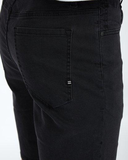 6 Outsider Denim Walkshort 20 Inches Noir H1WK14BIP8 Billabong