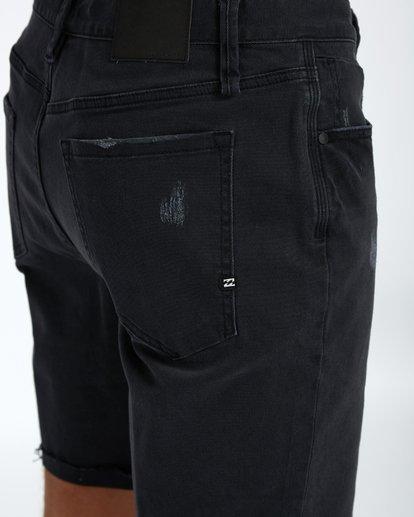 6 Fifty Denim Walkshort 19 Inches Noir H1WK15BIP8 Billabong