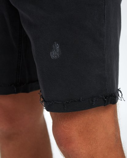 7 Fifty Denim Walkshort 19 Inches Noir H1WK15BIP8 Billabong