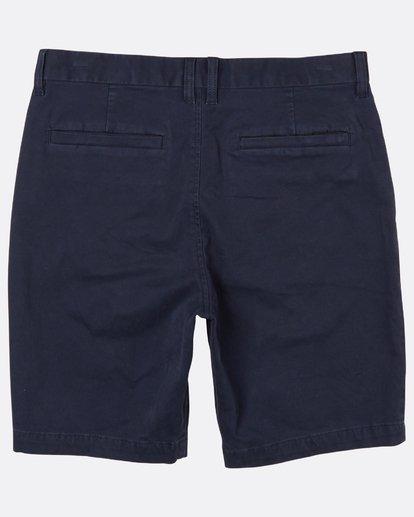 1 New Order Walkshort 19 Inches Bleu H1WK16BIP8 Billabong