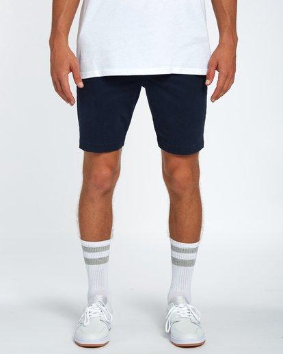 2 New Order Walkshort 19 Inches Bleu H1WK16BIP8 Billabong
