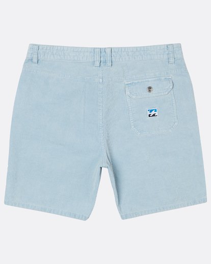 1 The Cord Short Walkshort 18 Inches Bleu H1WK19BIP8 Billabong