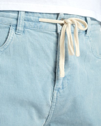 6 The Cord Short Walkshort 18 Inches Bleu H1WK19BIP8 Billabong