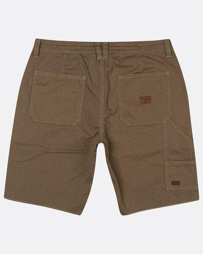 1 Craftman Short Walkshort 19 Inches Vert H1WK20BIP8 Billabong