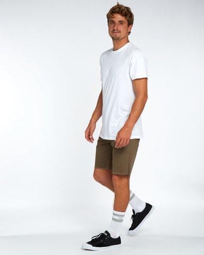 3 Craftman Short Walkshort 19 Inches Vert H1WK20BIP8 Billabong