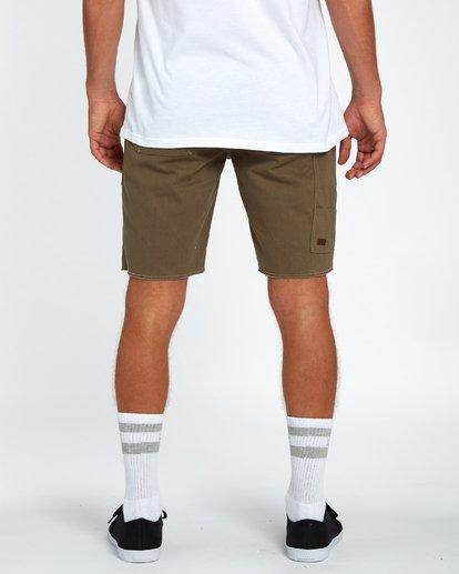 5 Craftman Short Walkshort 19 Inches Vert H1WK20BIP8 Billabong