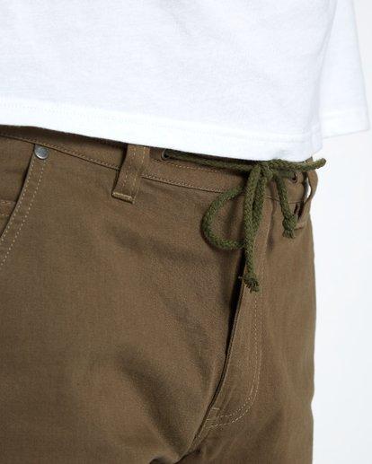 6 Craftman Short Walkshort 19 Inches Vert H1WK20BIP8 Billabong