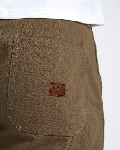 7 Craftman Short Walkshort 19 Inches Vert H1WK20BIP8 Billabong