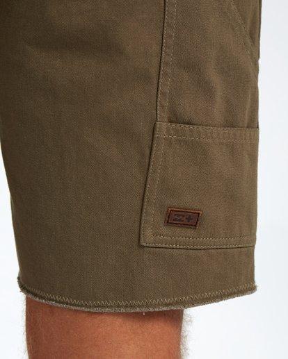 8 Craftman Short Walkshort 19 Inches Vert H1WK20BIP8 Billabong