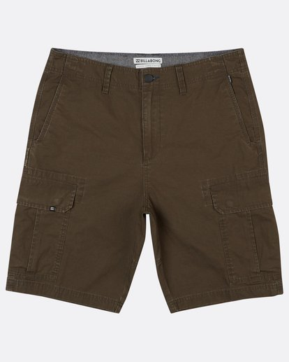 0 Scheme Cargo Walkshort 21 Inches Marron H1WK22BIP8 Billabong