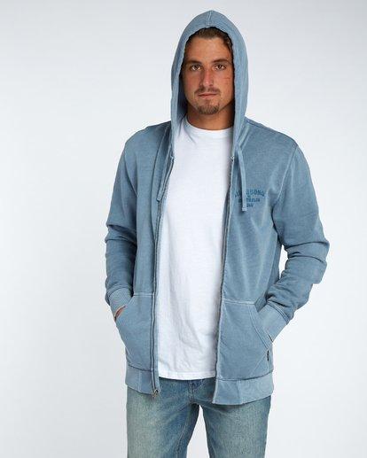 3 Origin Zip Hood Bleu H1ZH03BIP8 Billabong