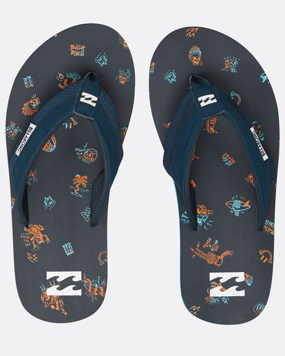 0 Boys Slappy Sandals Bleu H2FF03BIP8 Billabong