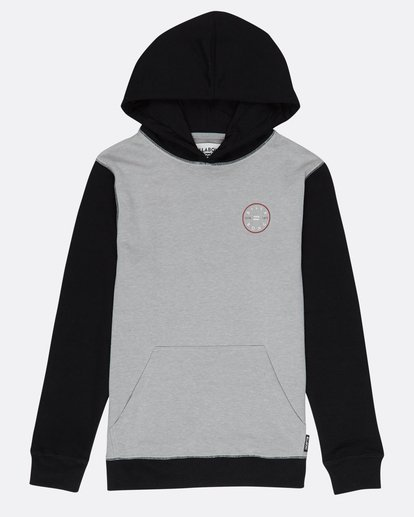 0 Boys Piston Hoodie Gris H2HO02BIP8 Billabong