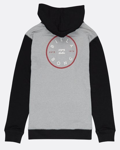 1 Boys Piston Hoodie Gris H2HO02BIP8 Billabong