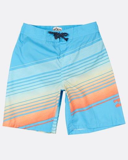 "0 Boys Resistance 17"" Laybacks Boardshort Orange H2LB04BIP8 Billabong"