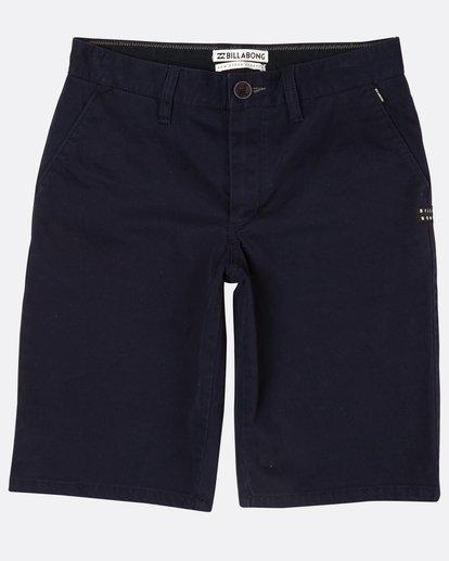 0 Boys New Order Walkshort Bleu H2WK05BIP8 Billabong