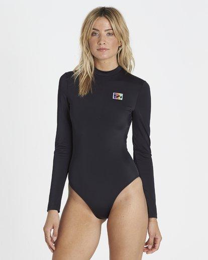 1 Re-Issue Long Sleeved Bodysuit Rash Vest  H3GY02BIP8 Billabong