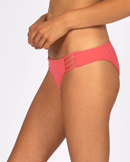 0 Sol Searcher Tropic Bikini Bottom Red H3SB08BIP8 Billabong